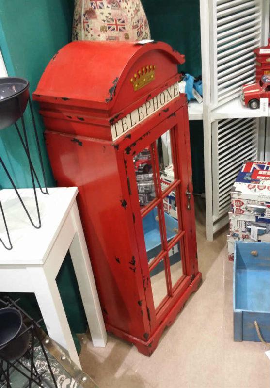 Κόκκινο Ντουλάπι-Τηλεφωνικός Θάλαμος Λονδίνου Η-147587