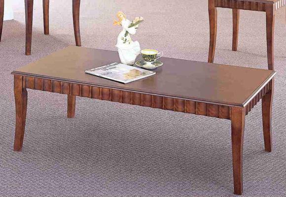 Τραπέζι Σαλονιού Σε Καρυδί Χρώμα Fl-121201