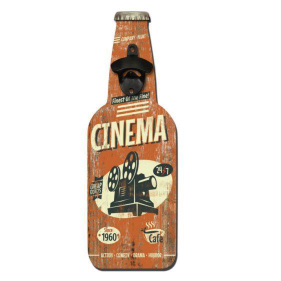 Ανοιχτήρι Μπύρας Σε Ξύλινο Κάδρο Fl-147571