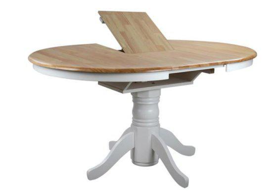 Στρογγύλο Φ106 Παραδοσιακό Τραπέζι Με Επέκταση ANG-122038