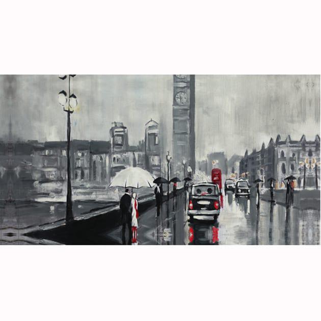 Το βροχερό Λονδίνο 60Χ120 Μ-210542