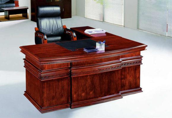 Γραφείο Με Χειροποίητο Σκάλισμα Μαιάνδρου G-127589