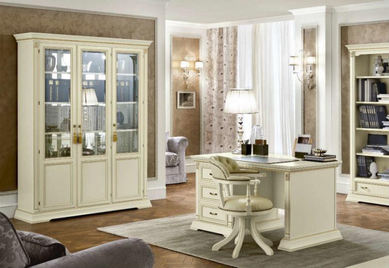 Λευκή Βιτρίνα Για το Σαλόνι ή Το Γραφείο CG-126578