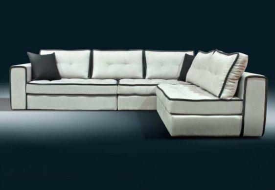 Καναπές Γωνία Με Διακοσμητικό Φυτίλι AS-100096