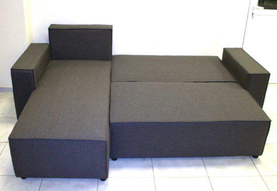 Γωνιακός Καναπές Κρεβάτι Με Αποθηκευτικό Χώρο AS-110074