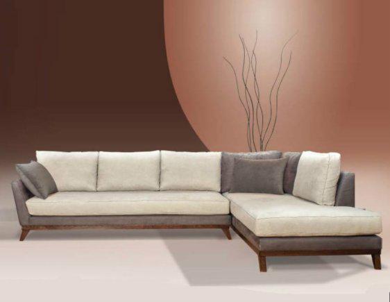 Καναπές Με Ξύλινη Βάση Και Ποδαρικά AS-100077