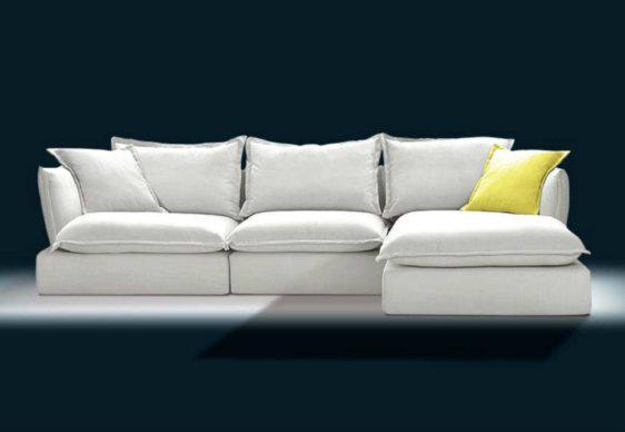 Κομψός Γωνιακός Καναπές Με Λεπτά Μπράτσα AS-100084