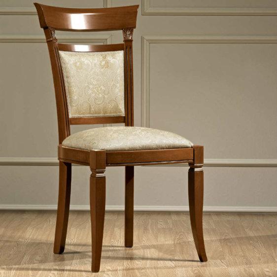 Σκαλιστή Καρέκλα από Ξύλο Κερασιάς CG-135099