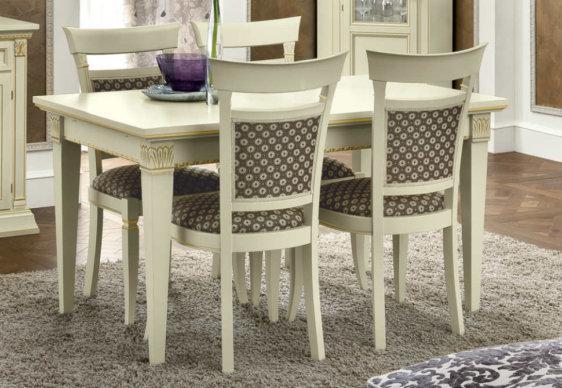 Κερασί ή Λευκό Τραπέζι Με Επέκταση 140(+90)X85  CG-122040