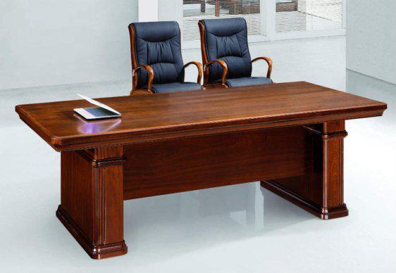 Ξύλινο Κλασικό Τραπέζι Συνεδριού 240Χ110 G-290020