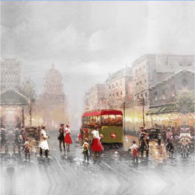 Εμπορικός Δρόμος στο Λονδίνο 50Χ50 Μ-210541