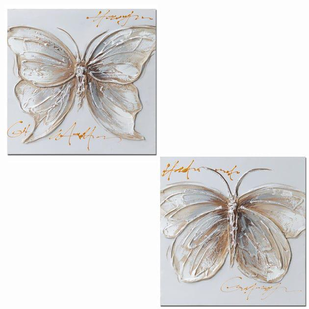Σετ Πινακάκια Πεταλούδα 30Χ30 Μ-210533