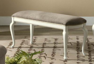 Ταμπουρέ Με Δερμάτινο Κάθισμα CG-147600