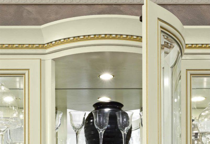 Αριστοκρατικό Έπιπλο Βιτρίνα Με Φωτισμό 158Χ210 CG-126577