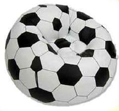 """Πολυθρόνα-πουφ """"Μπάλα ποδοσφαίρου"""""""