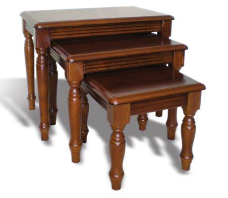 Τραπέζι Σαλονιού Ζιγκόν Κλασσικό g-115029