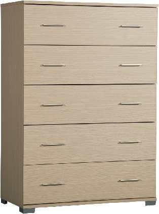 Συρταριέρα με 5 βαθειά συρτάρια 90*45*127 εκ.ύψος Α-270252