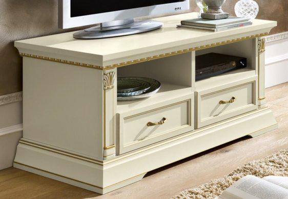 Λευκό ή Κερασί Έπιπλο TV με Συρτάρια CG-131521