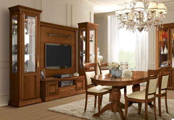 Έπιπλο Τηλεόρασης 170MX50Y Με Χρυσές Λαβές   CG-131518
