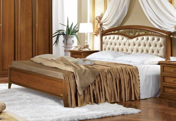 Κρεβάτι Με Χειροποίητο Στολίδι από Χυτοσίδηρο CG-050472