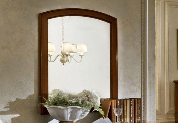 Καθρέφτης Ιταλικός Με Ξύλινο Πλαίσιο CG-330118