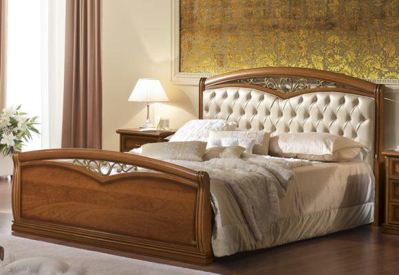 Ρομαντικό Κρεβάτι με Καπιτονέ Κεφαλάρι CG-050471
