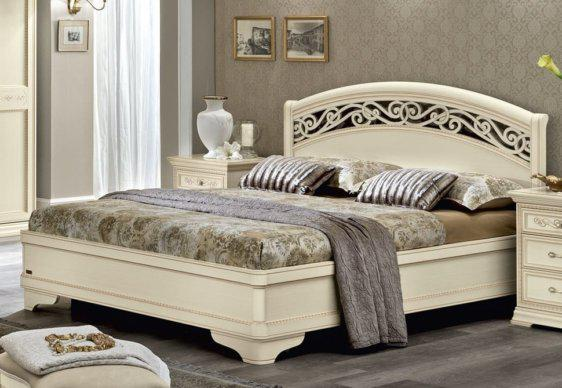 Υπέρδιπλο Κρεβάτι Σε Απόχρωση Ελεφαντόδοντου CG-050453