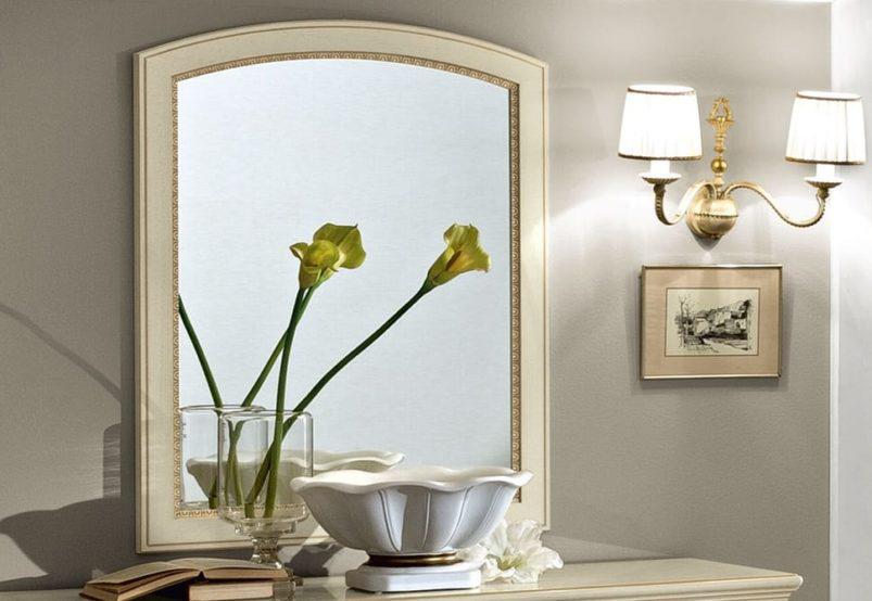 Καθρέφτης Σε Απόχρωση Ελεφαντόδοντου CG-330119