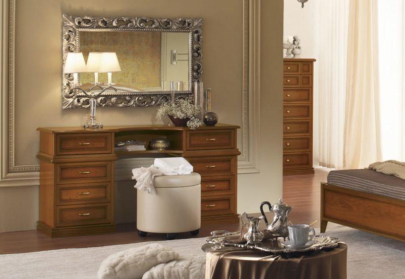 Λευκή ή Καρυδί Μεγάλη Τουαλέτα Κρεβατοκάμαρας CG-370200