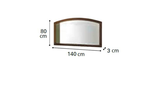 Καθρέφτης Με Χειροποίητη Χάραξη CG-330127