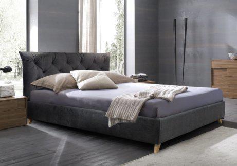 Μοντέρνο Κρεβάτι με Καπιτονέ κεφαλάρι IP-050466