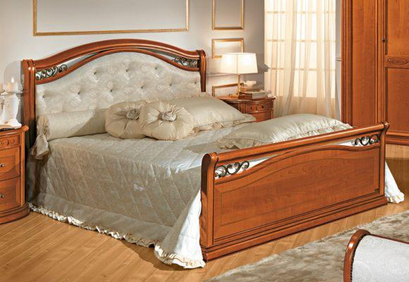 Κρεβάτι με Με Swarovski σε Δέρμα ή Ύφασμα  CG-050479