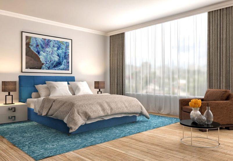 Κρεβάτι Με Εξώραφη Καπιτονέ Εμφάνιση IP-050467