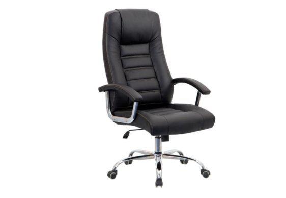 Τροχήλατη Καρέκλα Γραφείου με Μεταλλική Βάση Z-080383