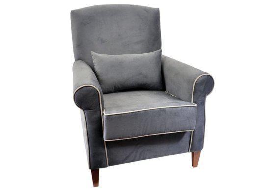 Πολυθρόνα Σαλονιού Με Μαξιλαράκι Fl-123575