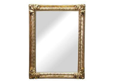 Καθρέφτης 110X80 με Χρυσή Κορνίζα Σκαλιστή G-330146