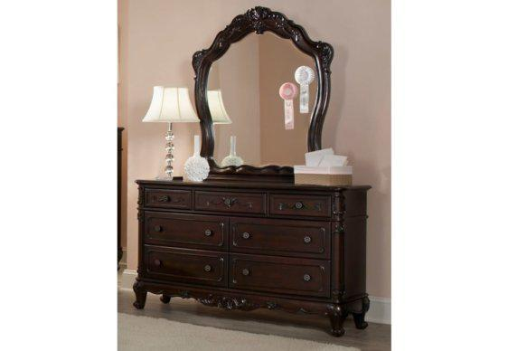 Ρομαντική Συρταριέρα με Καθρέφτη G-370219