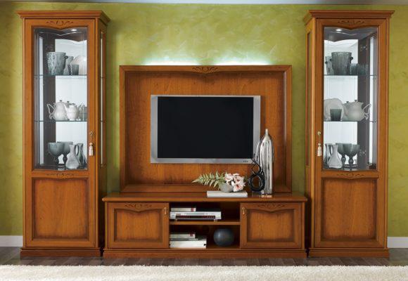 Μακρύ Ξύλινο Έπιπλο Τηλεόρασης 170Χ51Χ50  CG-131523