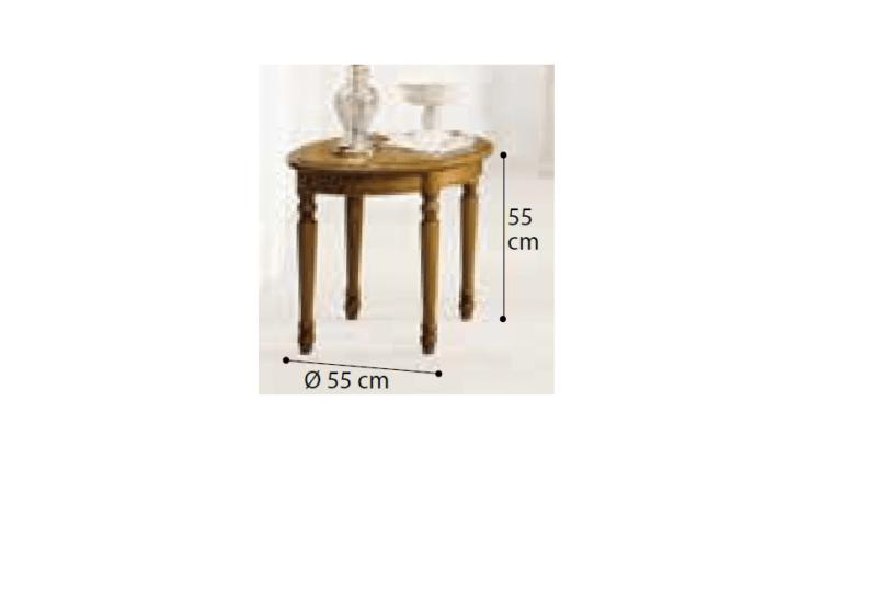 Ξύλινο Τραπεζάκι Βοηθητικό Κερασί CG-121213