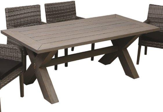 Ξύλινο Τραπέζι Εξωτερικού Χώρου από Πεύκο AG-220429