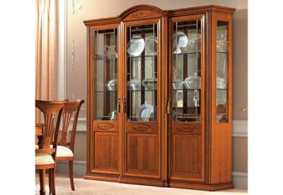 Τρίφυλλη Μεγάλη Κλασική Βιτρίνα Σαλονιού CG-126592