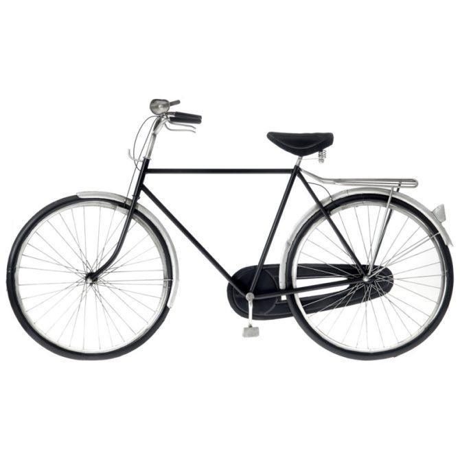 Διακοσμητικό Μεταλλικό Ποδήλατο Τοίχου Η-147593