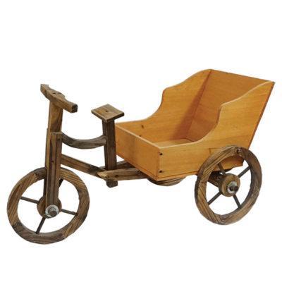 Ξύλινο Ποδήλατο Διακοσμητικό Κήπου ΑΤC-05011