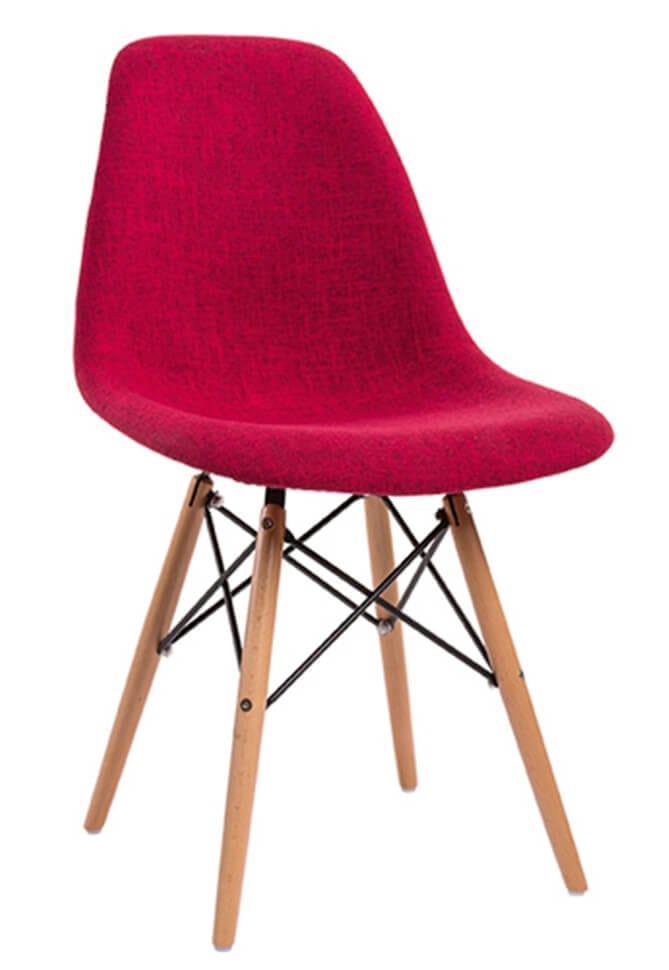 Καρέκλα Eames με patchwork πολύχρωμη V-190305