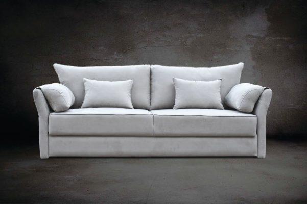 Καναπές διπλό κρεβάτι με μπαούλο και λεπτό μπράτσο AS-110076