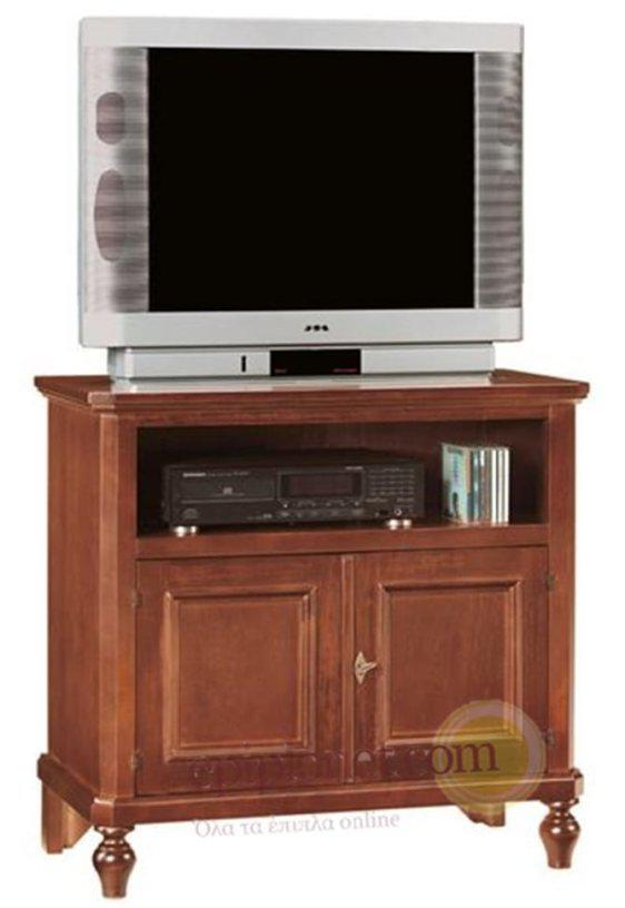Εντυπωσιακό Κλασσικό Έπιπλο Τηλεόρασης με Ντουλάπια ΤΕ-131563
