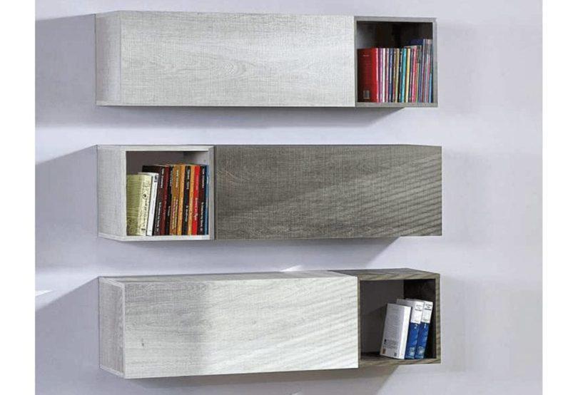 Κρεμαστό Κουτί Τετράγωνο για Διαμόρφωση Βιβλιοθήκης Α-131552