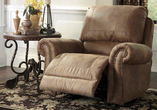 Πολυθρόνα Relax Ashley με Ανακλινόμενη Πλάτη και Υποπόδιο G-123577