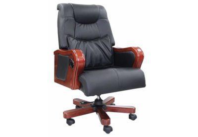 Πολυθρόνα Γραφείου Τύπου Μπερζέρα με Ανάκλιση G-080389