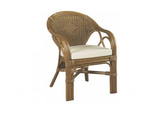 Πολυθρόνα για Βεράντα από Φυσικό Rattan J-225034